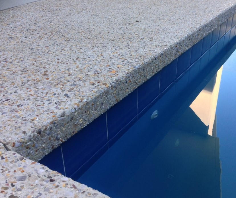 Exposed & Washed Aggregate Concrete Finish Pools & Driveways